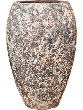 Lava - Emperor Relic Rust Metal Bloempot 45x75