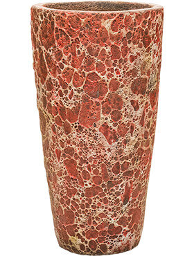 Lava - Partner Straight Relic Pink Bloempot 35x65