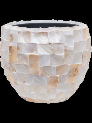 Oceana Pearl - Couple White Ø42 (met binnenbak)