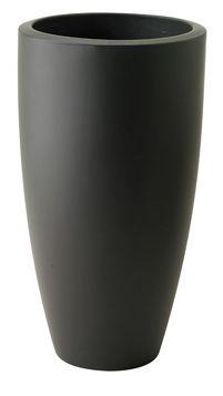Elho Pure Soft Round High Antraciet (Dia. 30cm en Hgt 54cm)