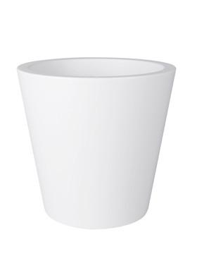 Pure Straight Round 35 cm White