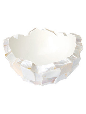 Coast Mother of pearl white 40 Cm.