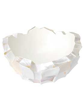Coast Mother of pearl white 60 Cm.