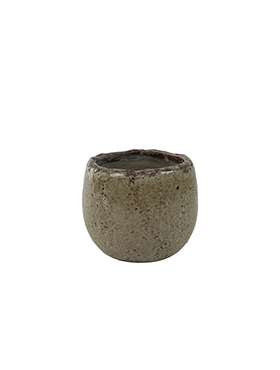 Bloempot Kirsty 11 cm Taupe