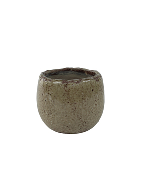 Bloempot Kirsty 14 cm Taupe
