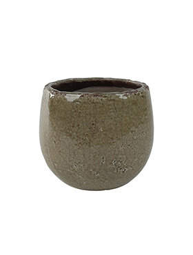 Bloempot Kirsty 16 cm Taupe