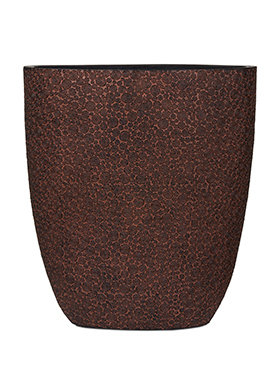 Capi Nature ovale pot wood III ibruin 33 cm