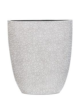Capi Nature ovale pot wood III ivoor 33 cm