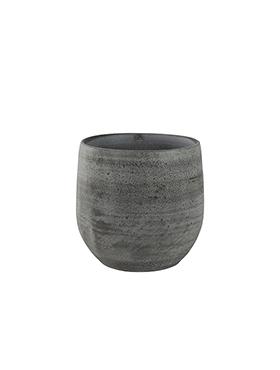 Bloempot Esra 22 cm Mystic grey