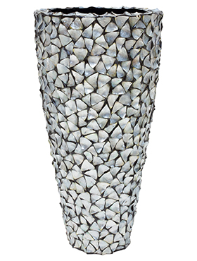 Coast Planter Mother of Pearl Silver Blue 140 cm
