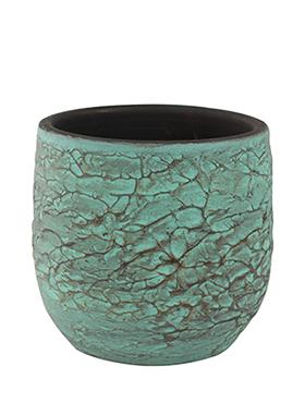 Bloempot Evi 22 cm Antiq Bronze