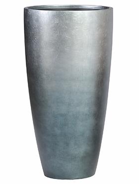 Vaas Metallic Silver leaf Ice Blue 40x75 cm