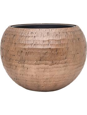 Bloempot Opus Globe ham goud60x 43inclusief binnenbak