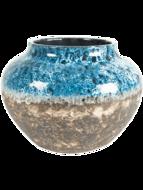 Bloempot Jar Lindy Sky Blue