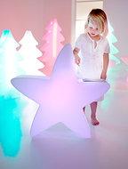 Licht in 15 kleuren Lumenio LED-ster maxi