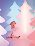 Kleurige led-kerstboom Lumenio mini, 82 cm