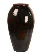 Vaas vase middle black mystic 120 cm.  maatvoering: diameter 67cm. hoogte: 120cm. (diameter betreft de ...