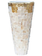Vaas Oceana Pearl Copper - Partner Yellow White 90 cm