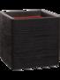 Capi Nature Rib NL - Pot Vierkant Zwart 50x50